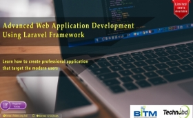 Advanced Web Application development using Laravel Framework(3rd Batch)