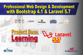 Professional Web Design & Development With Bootstrap 4.1 & Laravel 5.7(2nd batch)