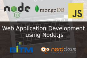 Web Application Development using Node.js