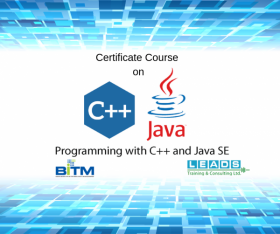 Certificate Course on Programming with C++ and Java SE