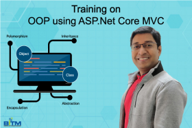 OOP using ASP.Net  Core MVC