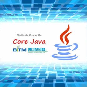 Certificate Course on Core Java