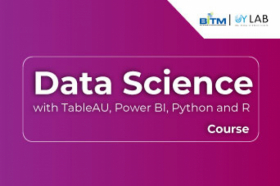 Data Science with TableAU, Power BI, Python and R