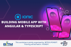 Ionic - Building Mobile App with Angular & Typescript(1st batch)
