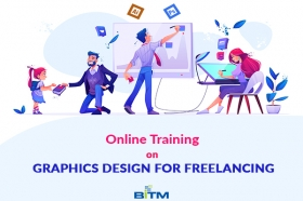 Online Training on Graphics Design for Freelancing