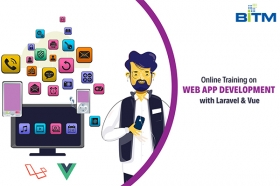 Online Training on Web App Development with Laravel & Vue