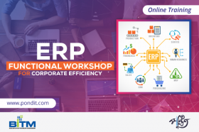 Online Training on ERP Functional Workshop for Corporate Efficiency