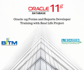 Online Course : Oracle 11g Forms and Reports Developer Training with Real Life Project(1st batch)