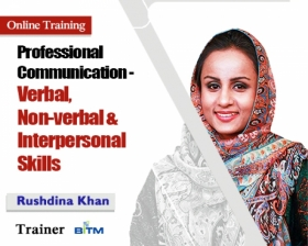 Online Course on Professional Communication- Verbal, Non-verbal and Interpersonal Skills