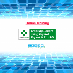 Online Course: Creating Report using Crystal Report & PL/SQL