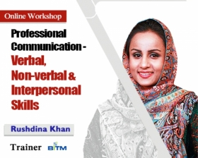 Online Workshop on Professional Communication- Verbal, Non-verbal and Interpersonal Skills