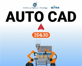 Auto CAD (Computer Aided Drafting) 2D&3D(1st batch)