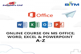 Online Course on MS Office; Word, Excel & PowerPoint A-Z