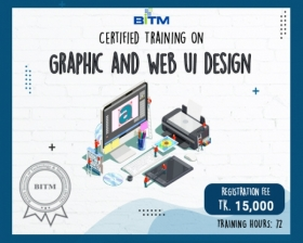 Certified Training on Graphic and Web UI Design(1st batch)