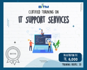 Certified Training on IT Support Services
