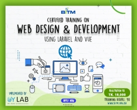 Web Design and Development using Laravel and Vue(7th Batch)