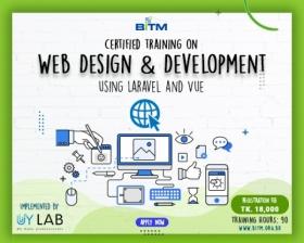 Web Design and Development using Laravel and Vue