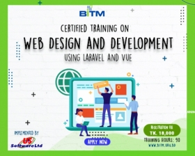 Web Design and Development using Laravel and Vue(8th Batch)