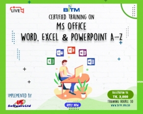 Online Course on MS Office; Word, Excel & PowerPoint A-Z(2nd batch)