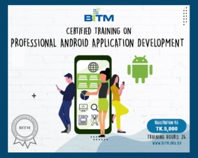Online Training on Professional Android Application Development(6th batch)