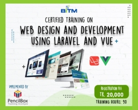 Web Design and Development using Laravel and Vue