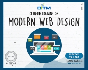 Online Course on Modern Web Design(8th batch)