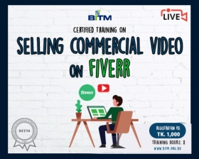 Online Training on Selling Commercial Videos to Local Businesses on Fiverr(10th batch)