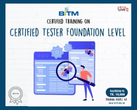 Certified Tester Foundation Level(1st batch)