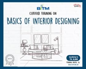 Online Training on BASICS OF INTERIOR DESIGINING