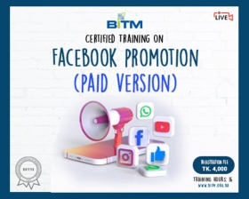 Online Training on Facebook promotion (Paid Version)