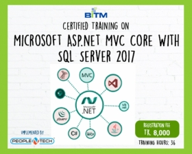 Online Training on Microsoft Asp.net MVC Core With SQL Server 2017