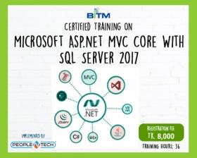 Online Training on Microsoft Asp.net MVC Core With SQL Server 2017