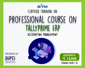 Online Professional course on TallyPrime ERP- Accounting Management