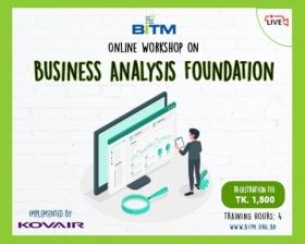 Workshop On Business Analysis Foundation