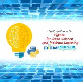 Certificate Course On Python for Data Science and Machine Learning