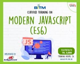 Online Training on Modern JavaScript (ES6)
