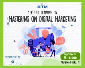 Mastering on Digital Marketing