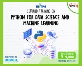 Online Course: Certificate Course On Python for Data Science and Machine Learning