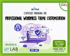 Online Training on Professional Wordpress Theme Customization
