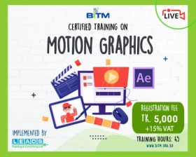 Online Course: Certificate Course On Motion Graphics