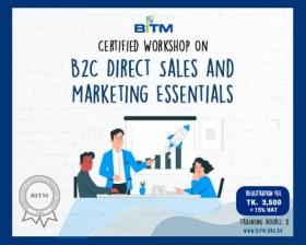 Workshop on B2C Direct Sales and Marketing Essentials