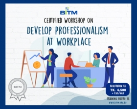 Workshop on Develop Professionalism at Workplace