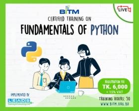Online Course: Fundamentals of Python