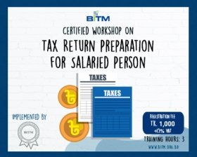 Tax Return Preparation for Salaried Person