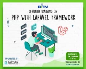 PHP with Laravel Framework