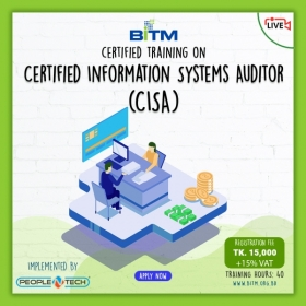 Online Training on Certified Information Systems Auditor (CISA)