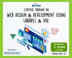 Web Design & Development Using Laravel & Vue