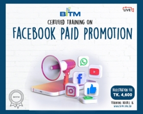 Online Training on Facebook Paid Promotion
