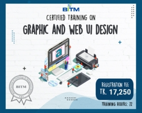 Certified Training on Graphic and Web UI Design